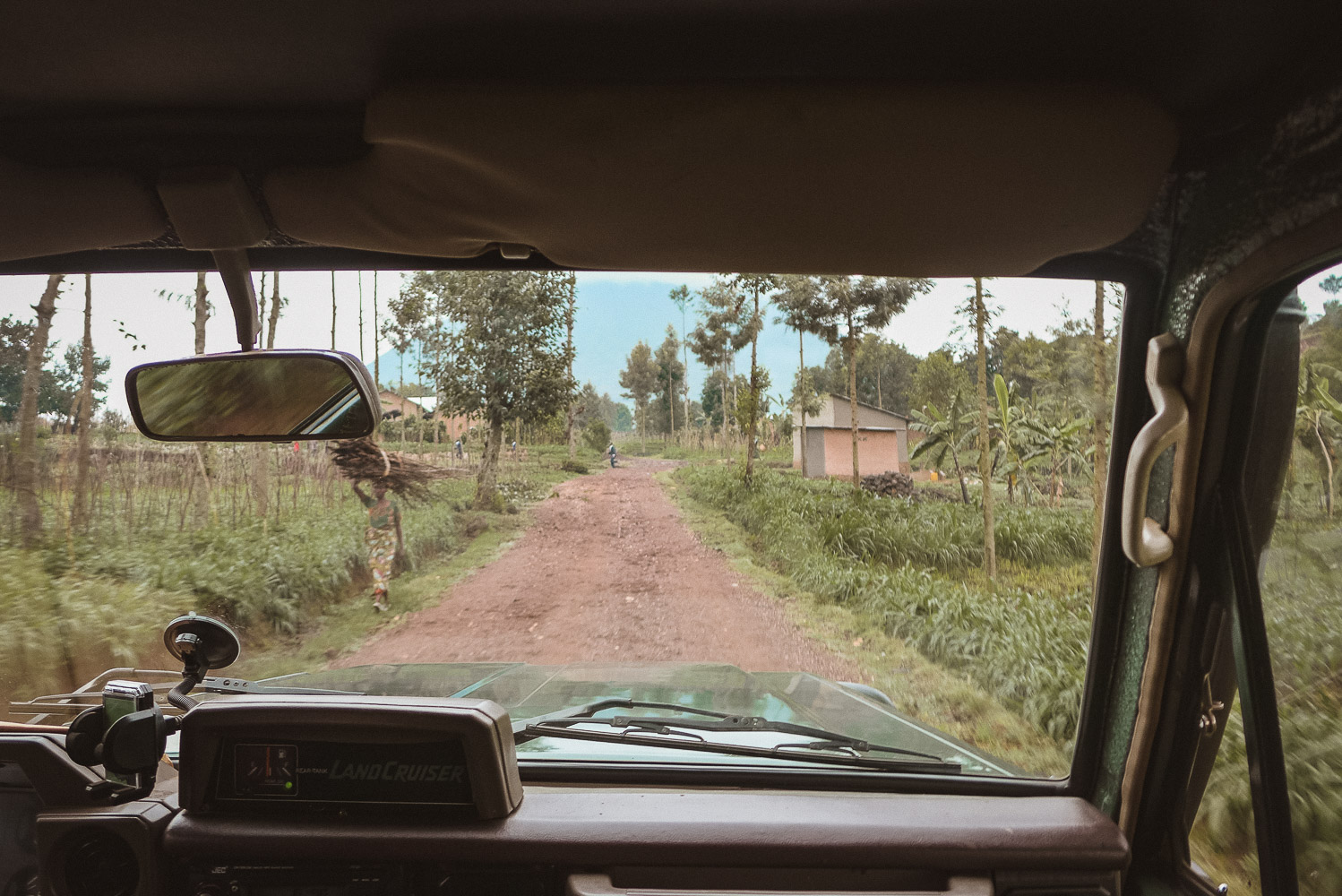 Drive to Parc National des Volcans for Gorilla trekking