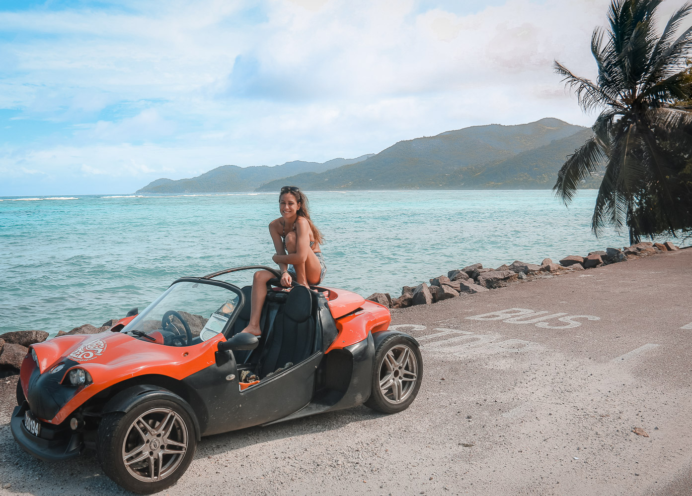 Rent a buggy in the Seychelles