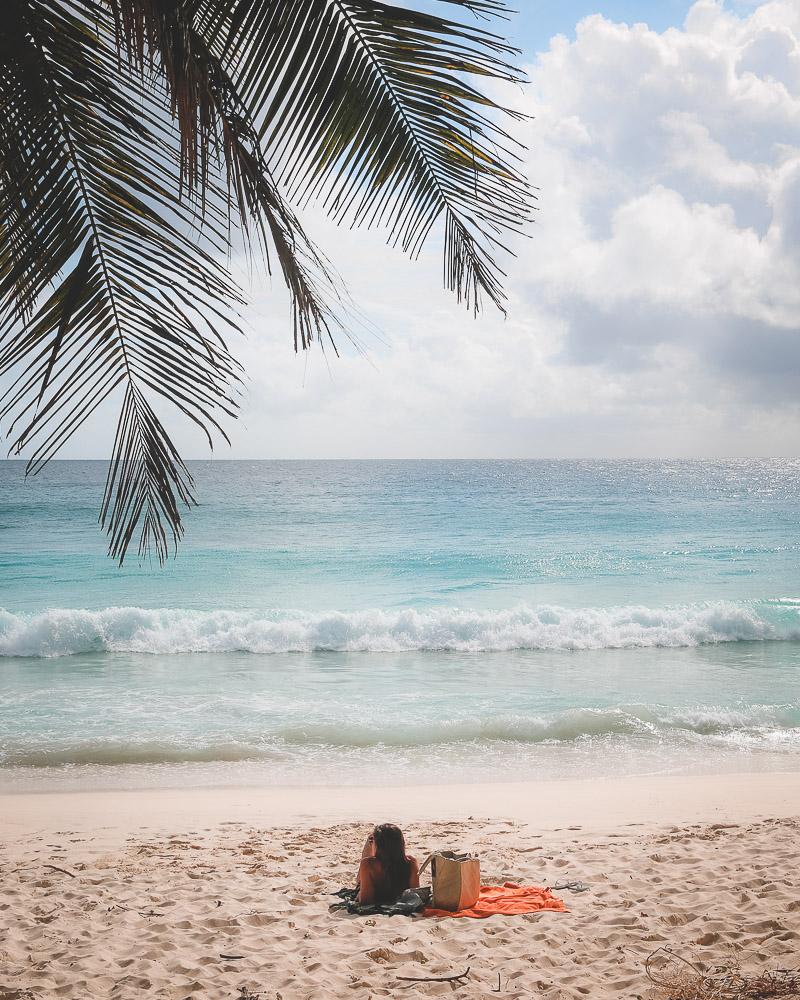 Anse Intendance beach Seychelles